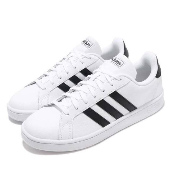 d53b5ec8e8121 adidas Shoes - Adidas Grand Court White Black.